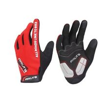 Bicycle Cycling Biking Gloves Mitts Full Finger RED Size Large