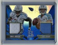 2013 Spectra Chris Johnson/Jake Locker Dual Relics /49 TITANS