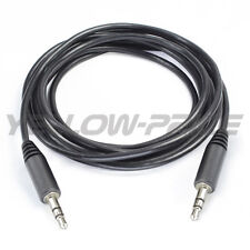 6-Feet 3.5mm Slim Male to Male Stereo Aux Auxiliary Audio Cable for MP3 MP4 IPOD