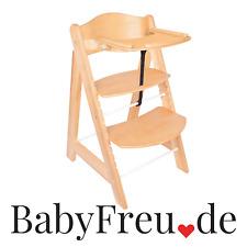 Kinderhochstuhl mit Tisch Mitwachsend Essbrett Hochstuhl Holz Treppenhochstuhl