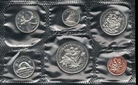 1970  Uncirculated Canada Coin - Manitoba - Proof Like PL Set - Superfleas