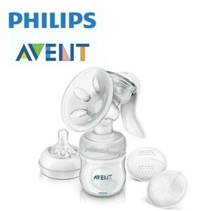 Philips Avent Natural Manual Breast Pump + 12 Breast Pads SCF330/70