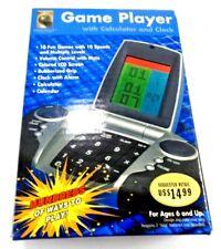 Innovage Portable Game Player Calculator Calendar Alarm Clock 10 Games NEW