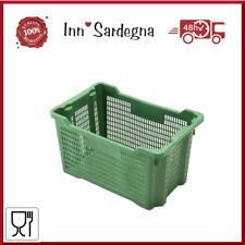 Cesta cassetta rettangolare lt.40 vendemmia contenitore raccolta uva olive ICS