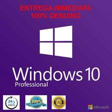 Windows 10 Pro 32/64 bit Sistema Operativo