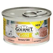 Gourmet Gold Savoury Cake Adult Cat Salmon 85g