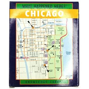 Exclusive Chicago History Museum What Happened Here Chicago Knowledge Cards