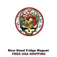 206 -  Nice Grateful Dead  Mushrooms Fridge Refrigerator Magnet