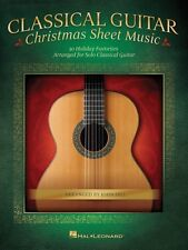 Classical Guitar Christmas  Sheet Music Guitar Solo Book NEW 000146974