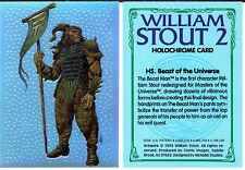 William Stout Series 2 Holochrome insert card H5
