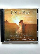 Love & Peace by L.Franco & G.Tortorelli Celtic Harp& Bamboo Flute CD New Sealed