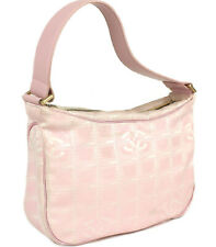CHANEL New Travel Line Mini Handbag Pink #47998 free shipping from Japan