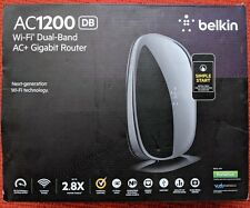 Belkin  AC 1200 DB WiFi Dual Band AC+ Router Up to 2.8x Faster F9K1123