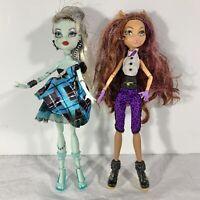 Monster High Dolls Set of 2 Clawdeen Wolf & Frankie Stein Sweet 1600 Set