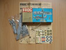 FROG Westland Wallace Rarität 1964
