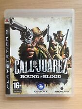 Sony-PS3-Call of Juarez-BOUND IN BLOOD-Shotting-Playstation 3-Game-PAL-Mint-16+