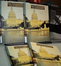 THE CONSTITUTION AND ITS AMENDMENTS Complete 4 Volume Hardback Set ROGER NEWMAN