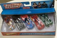 HotWheels Exclusive 2012 Justice League 5 Pack 1:50 Diecast Car. NEW. NRFB
