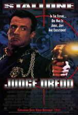 JUDGE DREDD Movie POSTER 27x40 Sylvester Stallone Armand Assante Diane Lane Rob