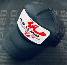 JDM J'S Racing WAZA BLACK CURVED BILL HAT CAP Snapback Trucker Hat Racers