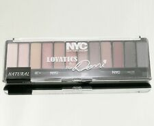 NYC LOVATICS BY DEMI 12 CLOLOR PALETTE EYESHADOW  MAKEUP COSMETICS #020 NATURAL