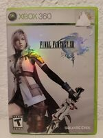 FINAL FANTASY XIII XBOX 360 GAME RPG FANTASY ACTION ADVENTURE COMPLETE 13
