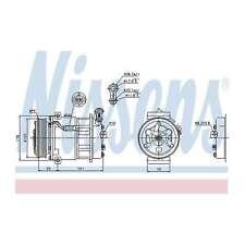 Fits Vauxhall Signum 3.0 V6 CDTI Genuine Nissens A/C Air Con Compressor