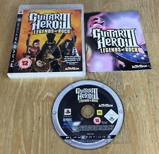 GUITAR Hero 3 Legends of Rock-PLAYSTATION PS3 GIOCO-COMPLETO