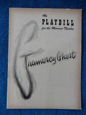 Gramercy Ghost - Morosco Theatre Playbill - June 11th, 1951 - Sarah Churchill