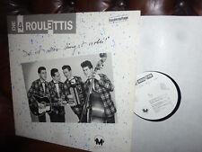 """Die 4 Roulettis, Das ist alles längst vorbei, Austria M Studio's LP, 12"""" Privat"""