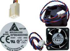 Ball Bearing 40mm*20mm Delta EFB0405VHD-5R26 5VDC/5V Fan/Cooler 4020 3pin/Wire