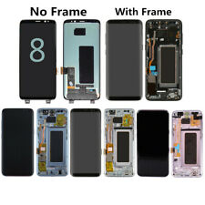 LCD Display Touch Screen Digitizer + Frame For Samsung Galaxy S8 G950/ S8+ G955