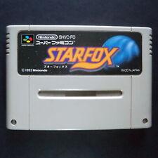 STAR FOX Nintendo Super Famicom NTSC JAPAN・❀・3D SHOOTER SUPER FX SFC vg スターフォックス