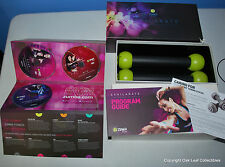 Exhilarate Body Shaping System 7 DVD Set & weights!