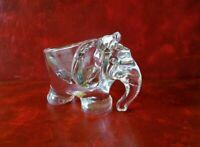 Empty Pocket Glass - Small Elephant