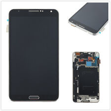 LCD Touch Screen Glass Digitizer Lens Frame For Samsung Galaxy Note3 N9005 Black