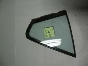 86-89 Acura Integra OEM rear Left driver side corner quarter window glass 4 door