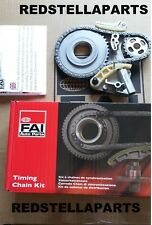 FAI Oil Pump Chain Sprocket Tensioner Kit AUDI A4 A6 SKODA 2.0TDI BMP BPW BLB-NA