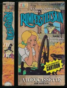 Family Home Ent FHE BETAMAX Rumpelstiltskin 1985 Animated Feature FACTORY SEALED