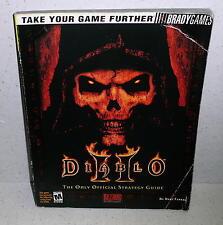 Diablo 2 Official Strategy Guide Brady Games 2000 Blizzard Entertainment