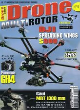 Drone multirotor numéro 1 du 04/2015 DJI spreading wings s900