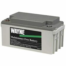 Wayne Wsb1275 Maintenance Free Agm Backup Sump Pump Battery 75 Ah