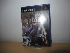 Sub Rebellion Sony PlayStation 2 ps2 pal new sealed