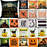 Halloween Cotton Linen Pillow Case Pillowcase Cushion Cover Home Decoration