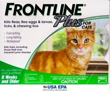 🌸🌸 FRONTLINE PLUS FOR CATS 1.5+ lb 3 MONTH SUPPLY 🌸🌸