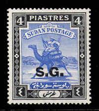 South Sudan 1936 OFFICIAL 4P chalk SG O39c mint CV £55