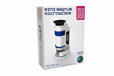 Science Museum Mini Magnum Microscope With 2 Slides. Brand New!!!! Wow Stuff