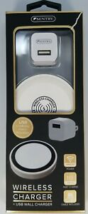Sentry wireless charger with USB wall charger Fast Quick Charge