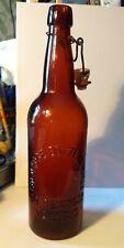 Deininger Vallejo Cal Western Beer Bottle #2 Pcgw California Gold Edge Bottling