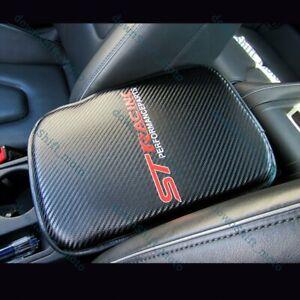 For FORD FOCUS ST Carbon Fiber Car Center Console Armrest Cushion Mat Pad Cover